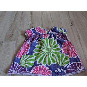 Carter's Super Cute Dress Top Flower Hippie Shorts
